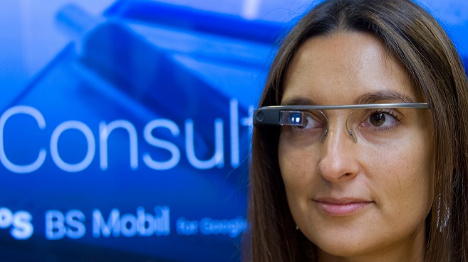 Google Glass Banco Sabadell App